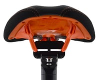Image 3 for Sdg Duster P MTN Saddle (Black/Orange) (Ti-Alloy Rails)