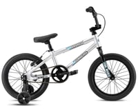 "SE Racing 2021 Bronco 16"" BMX Bike (Silver) (15.1"" Toptube)"