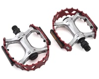 "SE Racing Bear Trap Pedals (9/16"") (Red) 