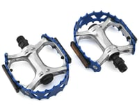 """Image 1 for SE Racing Bear Trap Pedals (9/16"""") (Blue)"""