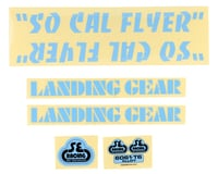SE Racing So Cal Flyer Decal Set (Blue)