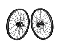 SE Racing BMX Wheelset (Black) (20 x 1.75)
