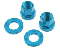 The Shadow Conspiracy Featherweight Alloy Axle Nuts (Blue)