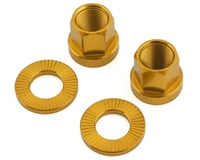 The Shadow Conspiracy Featherweight Alloy Axle Nuts (Gold) (14mm)   alsopurchased