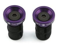 The Shadow Conspiracy Deadbolt Slim Bar Ends (Skeletor Purple) (Pair)