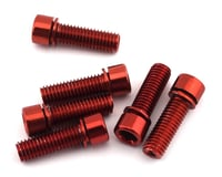 The Shadow Conspiracy Hollow Stem Bolt Kit (Red) (6) (8 x 1.25mm)