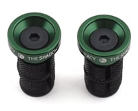 The Shadow Conspiracy Deadbolt Slim Bar Ends (Pair) (British Racing Green)