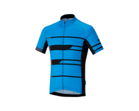 Image 2 for Shimano Team Jersey (Blue) (S)