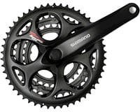 Shimano Tourney FC-A073 Crankset - 170mm, 7/8-Speed, 50/39/30t, Riveted, Square | relatedproducts