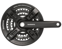 Shimano M311 Altus (Black) (22x32x42T) (7/8Speed) (Square Crankset W/Guard)