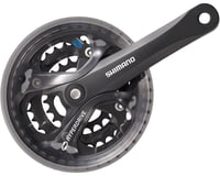Shimano Acera FC-M361 Crankset (Black) (3 x 7/8 Speed) (Square Taper)