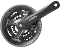 Shimano Acera FC-M361 Crankset - 170mm, 7/8-Speed, 48/38/28t, 104/64 BCD, Square | relatedproducts