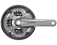 Shimano Alivio M4000 9-Speed 170mm 22/30/40t Octalink Crankset with Chainguard,