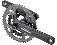 Shimano Deore M591 9-Speed 175mm 22/32/44t Crankset, Black, with Bottom Bracket