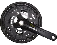 Shimano Alivio T4010 9-Speed 170mm 26/36/48t Octalink Crankset with Chainguard,