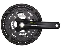 Shimano Alivio FC-T4010 Crankset - 175mm, 9-Speed, 44/32/22t, 104/64 BCD, Shiman