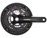 Shimano Alivio T4010 9-Speed 175mm 26/36/48t Octalink Crankset with Chainguard,