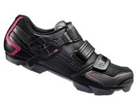 Image 1 for Shimano Women's SH-WM83 Mountain Shoes (Black)