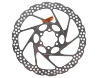 Shimano RT56M 6-Bolt Disc Brake Rotor (Silver) (Resin Pads Only) (180mm)