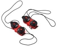 Image 1 for Sidi Shot/Tiger Double Tecno-3 Push Closure System (Red/Black) (Pair)