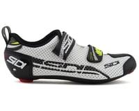 Image 1 for Sidi T-4 Air Carbon Womens Tri Shoes (White/Black) (40)