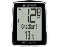 Sigma BC 14.16 Bike Computer (Black) (Wired)