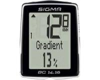 Sigma BC 14.16 Bike Computer (Black) (Wired) | relatedproducts