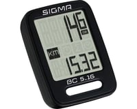 Image 2 for Sigma BC 5.16 Bike Computer (Black) (Wired)