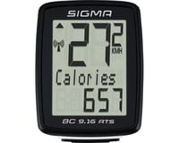 Sigma BC 9.16 ATS Bike Computer (Black) (Wireless)