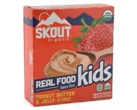 Skout Organic Real Food Bars for Kids  (6 Count) (Peanut Butter & Jelly)