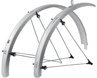 SKS B42 Commuter II Bolt-On Fender Set (700 x 25-35mm) (Silver)