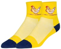 "Sockguy Cluck 3"" Sock (Cluck Yellow)"