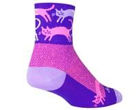 """Image 2 for Sockguy 3"""" Socks (Pounce) (S/M)"""