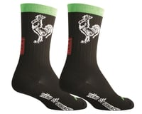 "Sockguy 6"" SGX Socks (Sriracha)"
