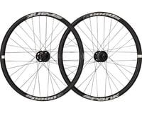 """Spank Spoon 28-24 Wheelset: 24"""" 15 x 100mm Front 12 x 142mm Rear Black"""