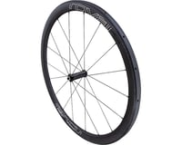 Specialized Roval CLX 40 Tubular - Front (Satin Carbon/White/Black) (700c)