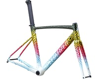 Specialized 2020 Allez Sprint Disc Frameset (Gloss Deep Moss/Pink/Micro Pearl White)
