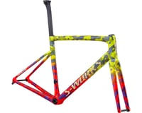 Specialized 2020 S-Works Tarmac Disc Frameset (Gloss Team Yellow/Rocket Red/Tarmac Black/Chameleon/Gold Foil)