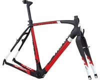 Specialized S-Works CruX Frameset (Satin/Gloss/Carbon/Red/White) (46)