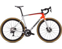 Specialized 2020 S-Works Roubaix -Shimano Dura-Ace Di2 (Gloss Dove Gray/Rocket Red/Black)