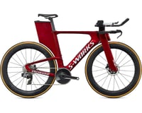 Specialized 2020 S-Works Shiv Disc - SRAM RED eTap AXS (Gloss Metallic Crimson/Chrome/Clean)