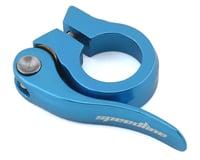 Image 1 for SPEEDLINE Quick Release Seatpost Clamp (Light Blue) (25.4mm)