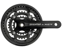 Sr Suntour XCT Jr. Crankset (3 x 9 Speed) (Square Taper)