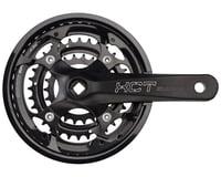 SR Suntour XCT Jr. Crankset - 152mm, 9-Speed, 44/32/22t, 104/64 BCD, Square Tape