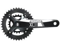 SR Suntour XCM-D Crankset - 175mm, 10-Speed, 36/22t, 104/64 BCD, Shimano Octalin