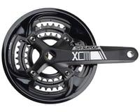 SR Suntour XCM-T Crankset - 170mm, 9-Speed, 48/36/26t, 104/64 BCD, Square Taper
