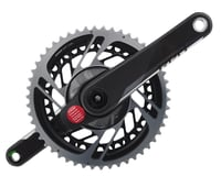 SRAM Red AXS Power Meter Crankset (Black) (2 x 12 Speed) (DUB Spindle)