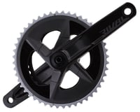 SRAM Rival AXS Crankset w/ Quarq Power Meter (Black) (2 x 12 Speed) (DUB Spindle) (D1)