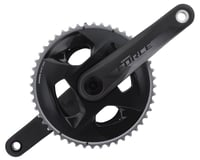 SRAM Force AXS Crankset (Black) (2 x 12 Speed) (DUB Spindle)
