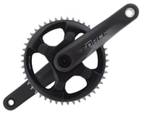 SRAM Force 1 AXS Crankset (Black) (1 x 12 Speed) (DUB Spindle)